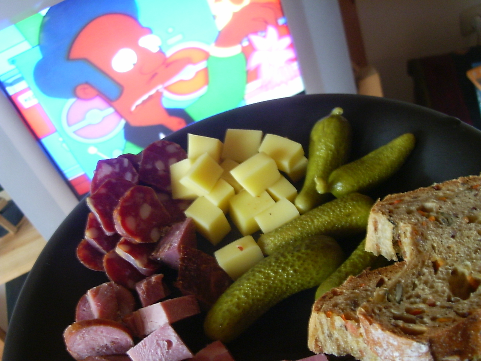 Lunch and Simpsons