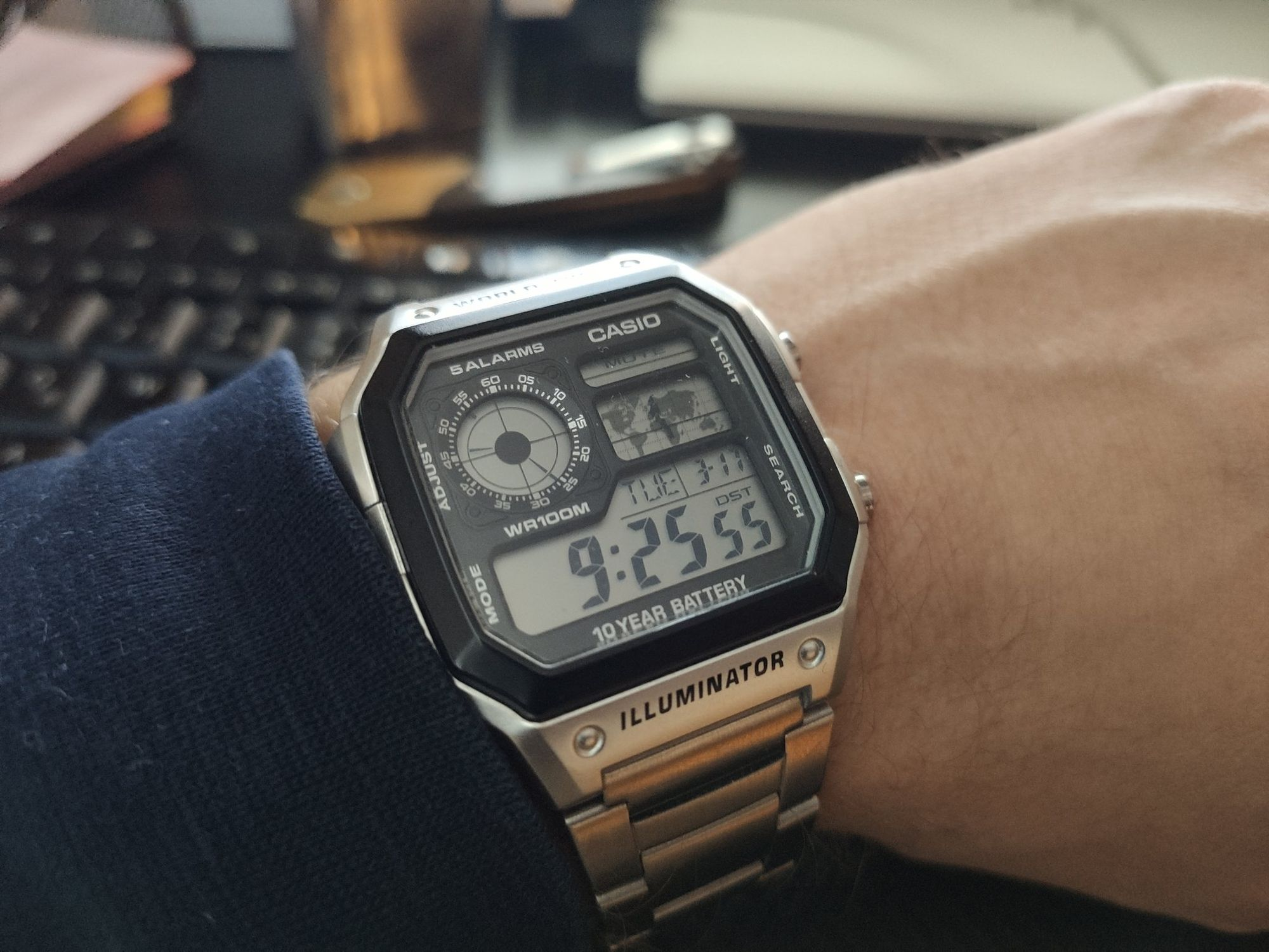 Watch of the day (or so), Pt. 1 - Casio Royale